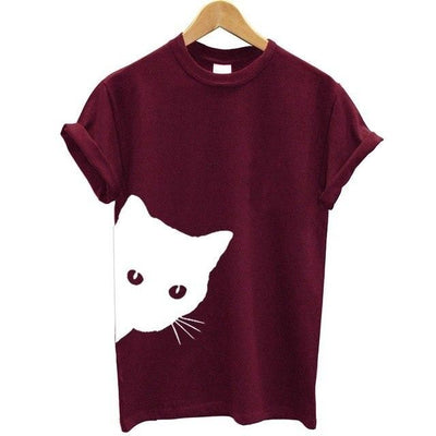 Peekaboo Kitty Kat Tee - Purrfect Apparel