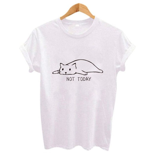 NOT TODAY Tee - Purrfect Apparel