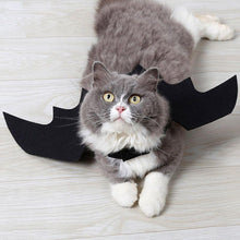 Load image into Gallery viewer, 'Bat Cat' Bat Wings Halloween Costume - Purrfect Apparel