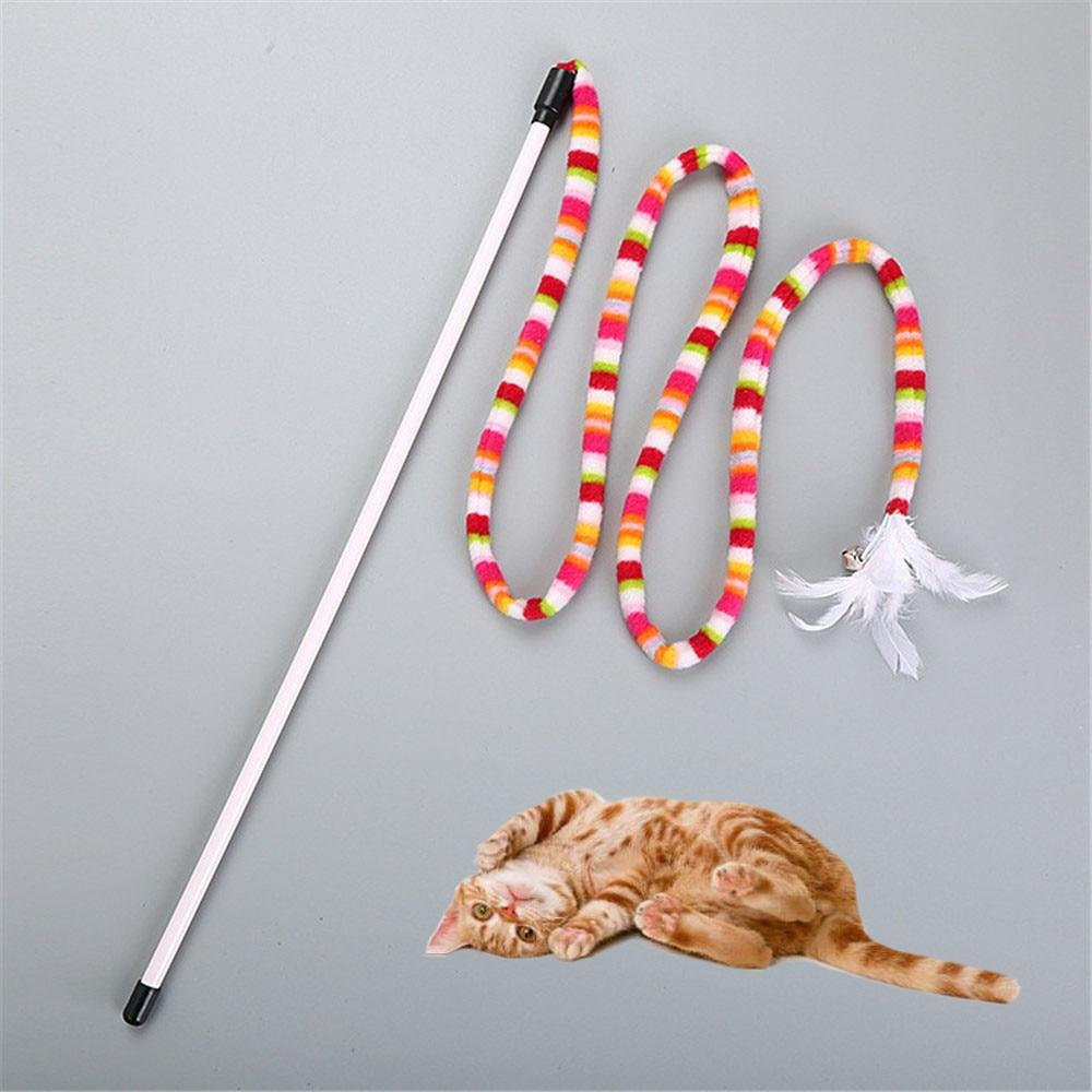 Rainbow Streamer Chaser Stick For Cats - Purrfect Apparel