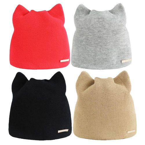 Cat Ear Beenie - Purrfect Apparel