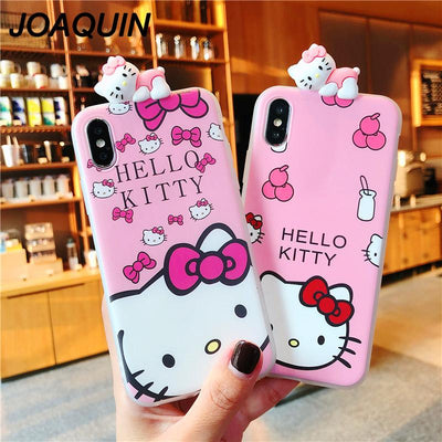 Hello Kitty Cat Case for iPhone 6s 7 8Plus - Purrfect Apparel
