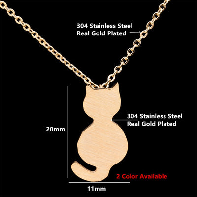 Cat Necklace - Purrfect Apparel