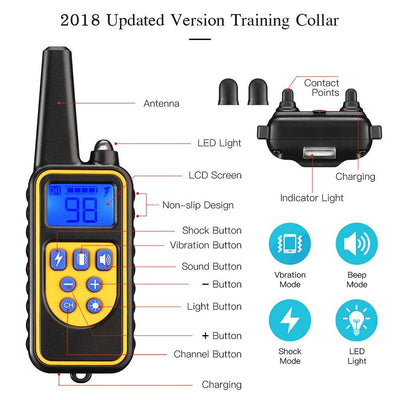 Remote Control Dog Training Collar - Purrfect Apparel