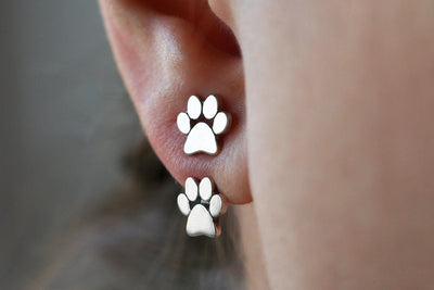 Cute Paw Print Earrings for Women - Purrfect Apparel