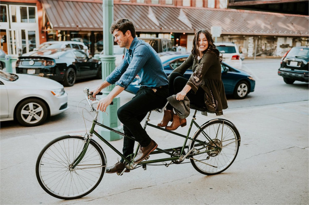 7 ideas for the perfect cycling date