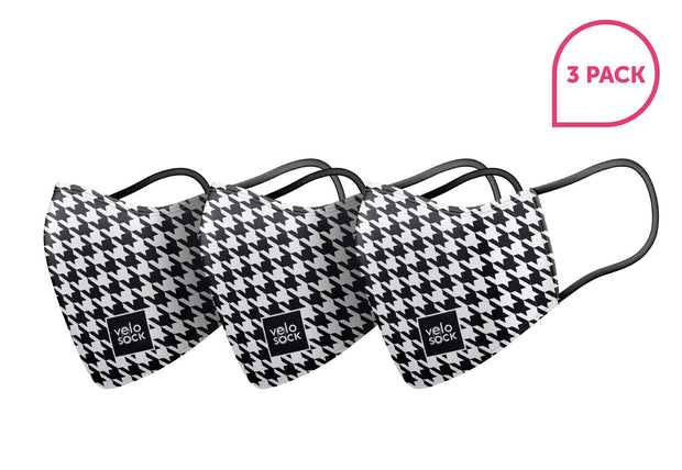 Face Mask - HOUNDSTOOTH (3 Pack)