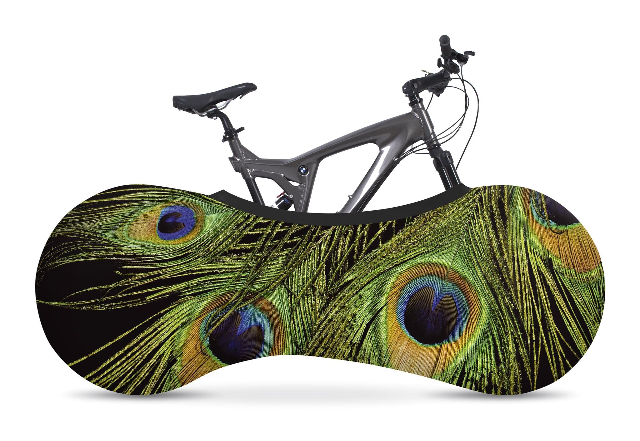 Indoor Bike Cover - Peacock