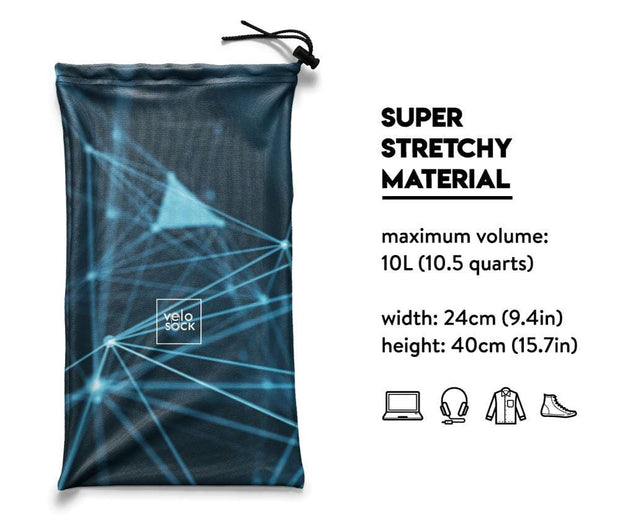 5 x Blue Multi-functional bag