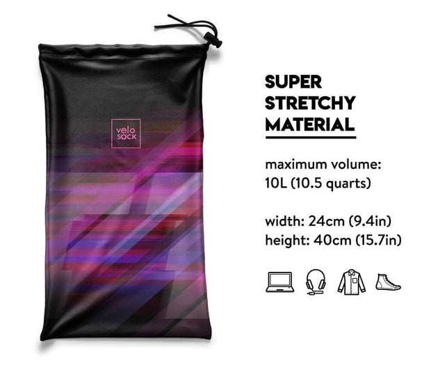 Multi-functional bag - Speed Purple