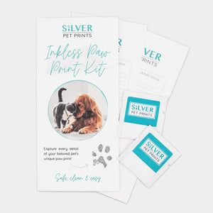 Magic Inkless Pet Paw Print Kit