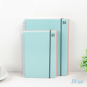 New Pink/Blue Spiral Bound Journals - you choose the inside!