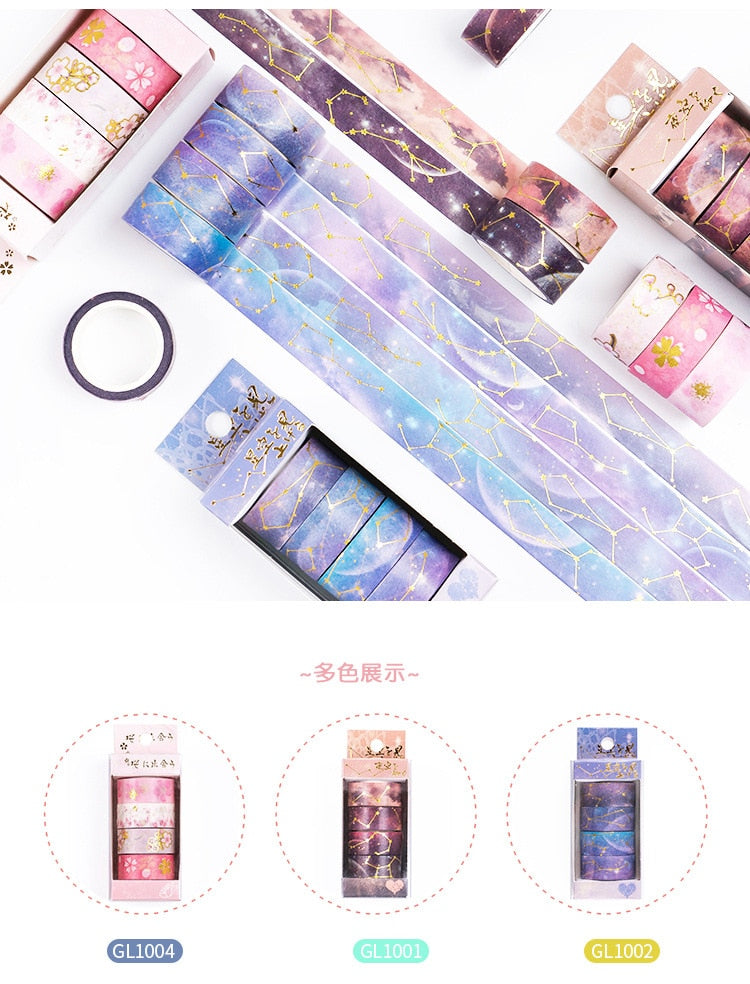Starry Night Washi Tape Set