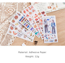 Load image into Gallery viewer, Scrapbook/Bujo Sticker Sets - pick your design - 3pcs/set