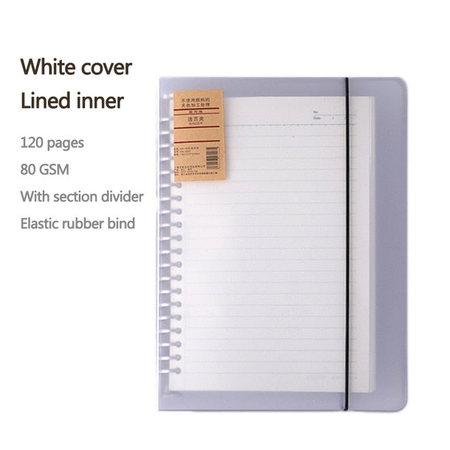 NEW Minimalist Notebook Binders - A4/A5 Sizes available
