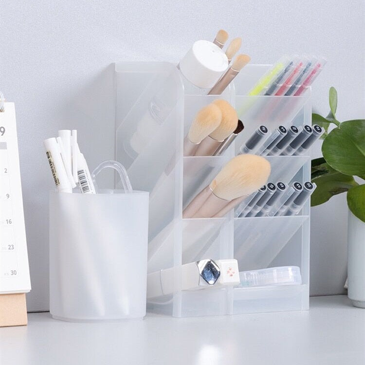 Transparent Pen Holder Organizer