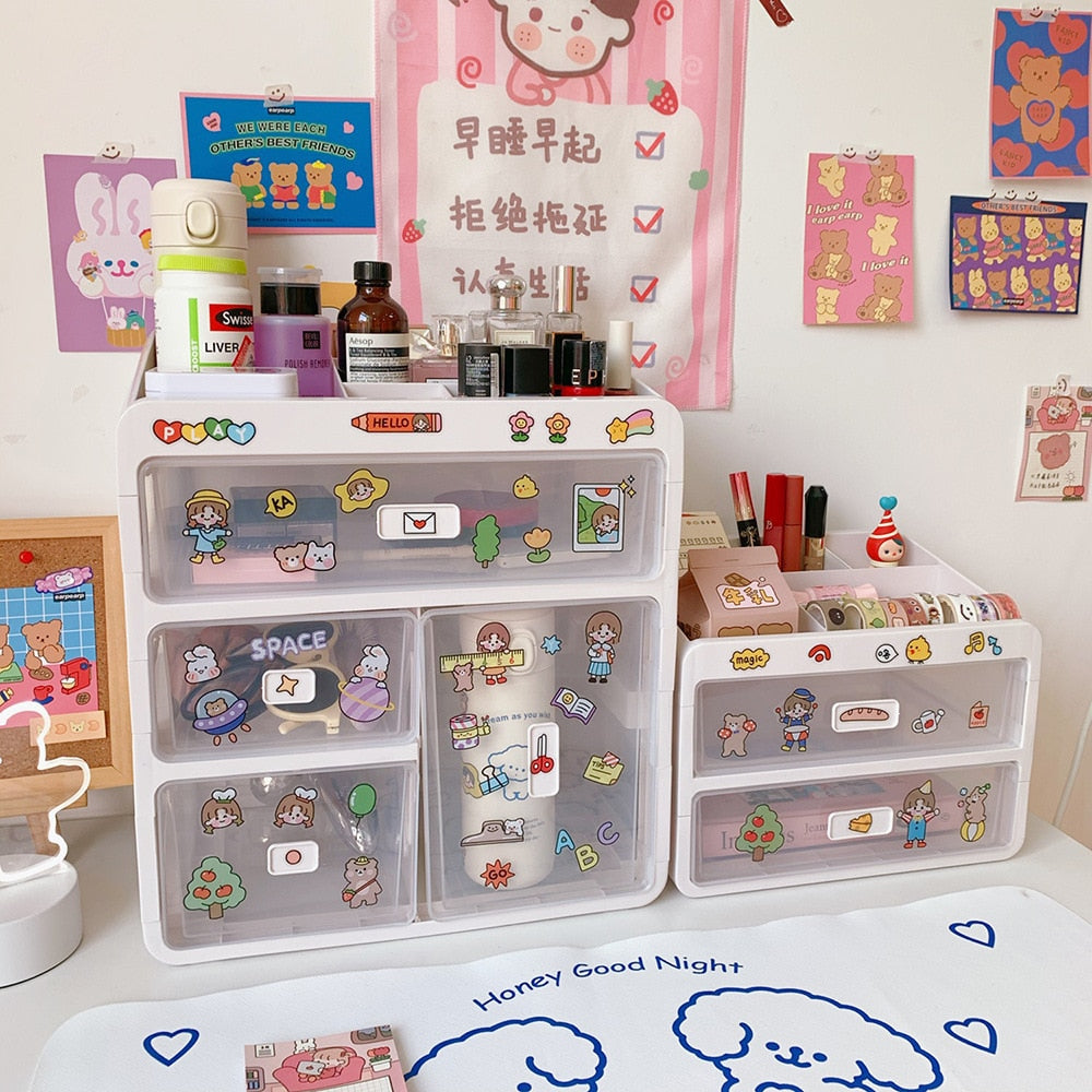 Kawaii Stationery Drawer/Organizer