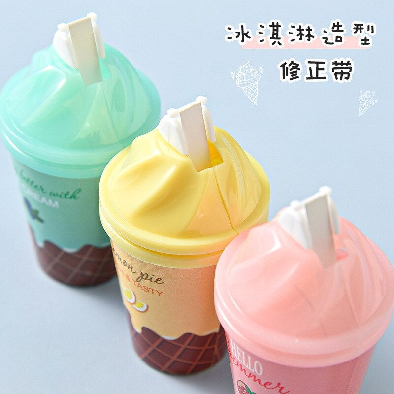 Kawaii Ice-cream Correction Tape