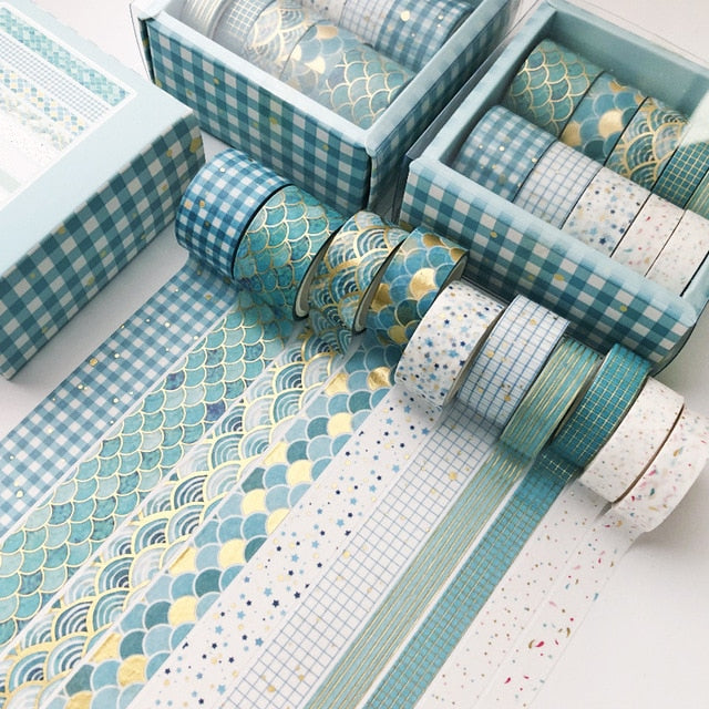 10 pcs/set Decorative Washi Tape