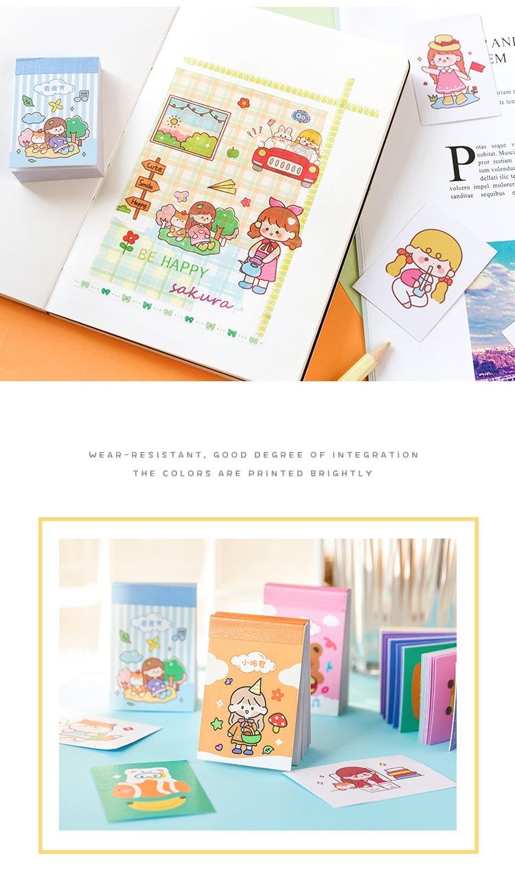 50 sheets Kawaii Sticker Album