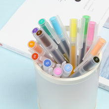 Load image into Gallery viewer, MUJI Style Gel Pens 0.5mm - 12 piece complete set!