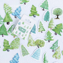 Load image into Gallery viewer, Forest Bohemian Sticker Set - 45pcs per set!