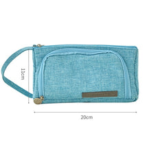 Load image into Gallery viewer, Canvas Pencil Case - Large Capacity!