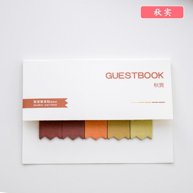 Memo Sticky Notes - choose your color!