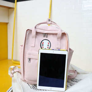 Kawaii Backpack NoFace Spirited Away Theme - NEW