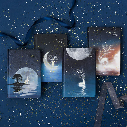 Luminous Mystic Night Notebooks
