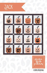 Jack Quilt Kit by April Rosenthal for Moda (Includes Laser Cut Faces)