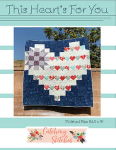 This Heart's for You Quilt Pattern PDF Format