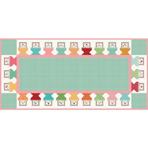 Prim Baskets Table Runner Boxed Kit by Lori Holt for Riley Blake Designs
