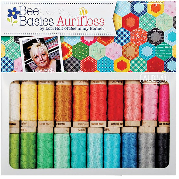 Bee Basics Aurifloss Set Lori Holt of Bee in my Bonnett