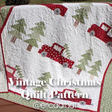 Vintage Christmas Quilt Kit - Pattern by Erica Arndt  (Pattern Purchased Separately)
