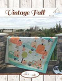 New! Vintage Fall Quilt Kit (pattern purchased separately) Featuring Figs and Shirtings Fabric