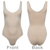 Control Leotard Waist Cincher Body Shaper Seamless Shapewear Nude