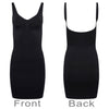 Breast Control Dress Body Seamless Waist Cincher Shapewear Black