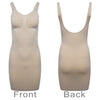 Breast Control Dress Body Seamless Waist Cincher Shapewear Nude