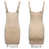 Control Dress Under Bra Waist Cincher Seamless Shapewear Nude