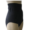 Black High Waist Tummy Control Brief Knickers Shapewear with Silicone Grips - Just For You Boutique