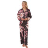 Digital Floral Print Satin Pyjamas PJs