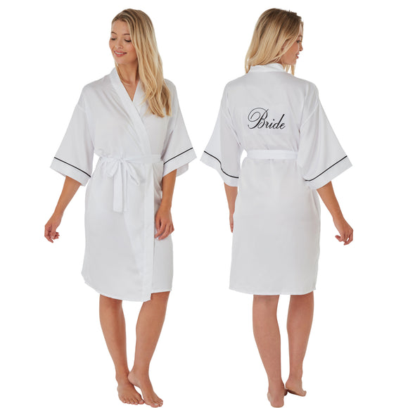 Bride Wedding Robe White