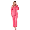 Bright Pink Satin PJs Pyjamas