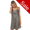 Sale Grey Spot Satin Chemise Adjustable Straps