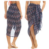 Multi Colour Chiffon Tribal Sarong Cover Up