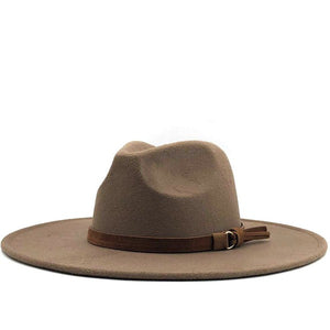 Keep Walking Wide Brim Panama Hat