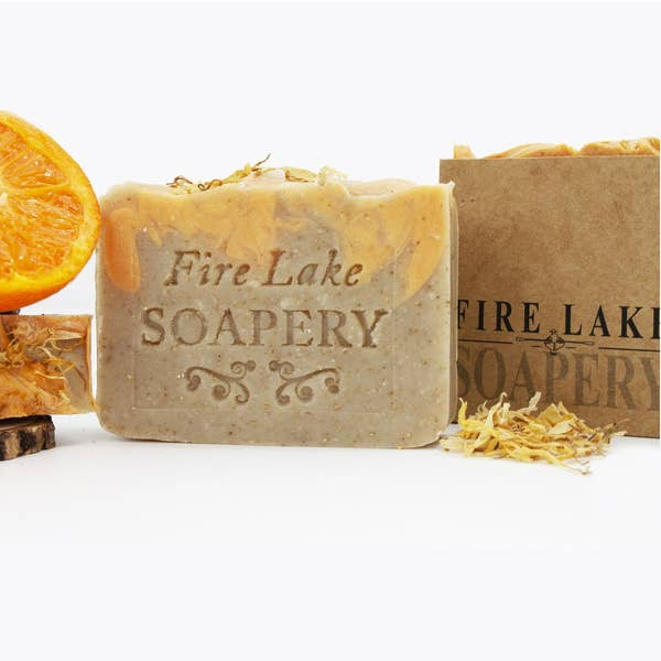 Oatmeal Citrus Bar Soap