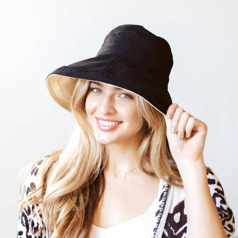 Full Shade Reversible Wide Brim Hat