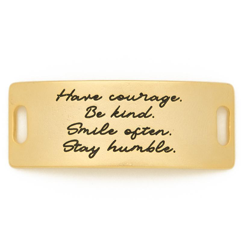Have Courage Be Kind Sentiment - Lenny & Eva